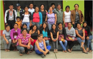 Local Providers at the Screening Campaign in La Coipa