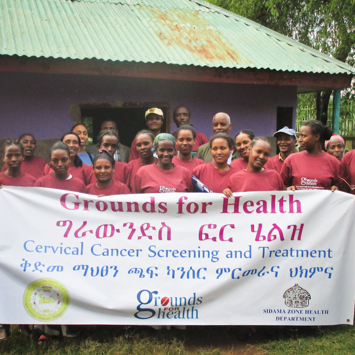 Launch of Grounds for Health Ethiopia.